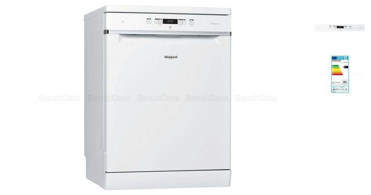 lave vaisselle whirlpool wfc3c24p blanc