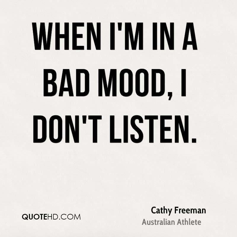 Cranky mood quotes