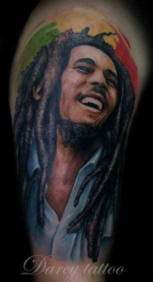 Bob Marley Quote Tattoo Designs