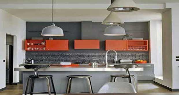 Quelle couleur mettre avec une cuisine grise