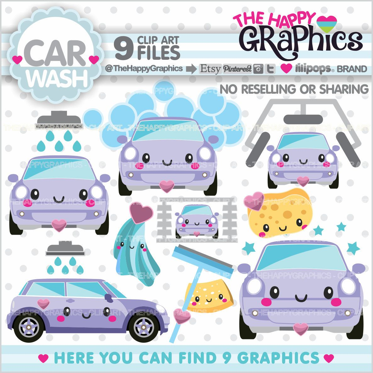 80 off car wash clipart car wash graphic commercial use chore clipart planner accessories - Coloriage car wash ...