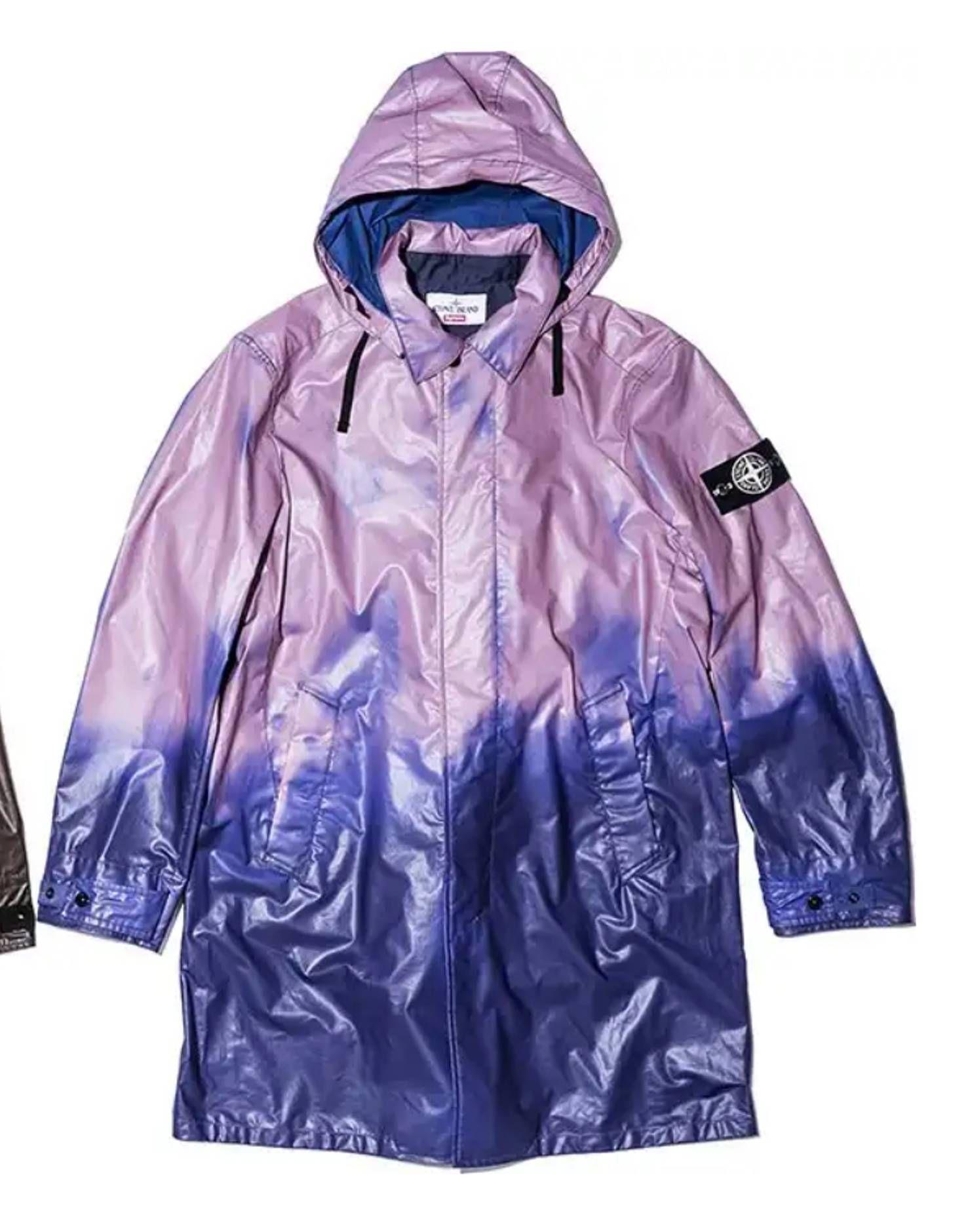 Supreme Supreme®Stone Island® Heat Reactive Trench Coat