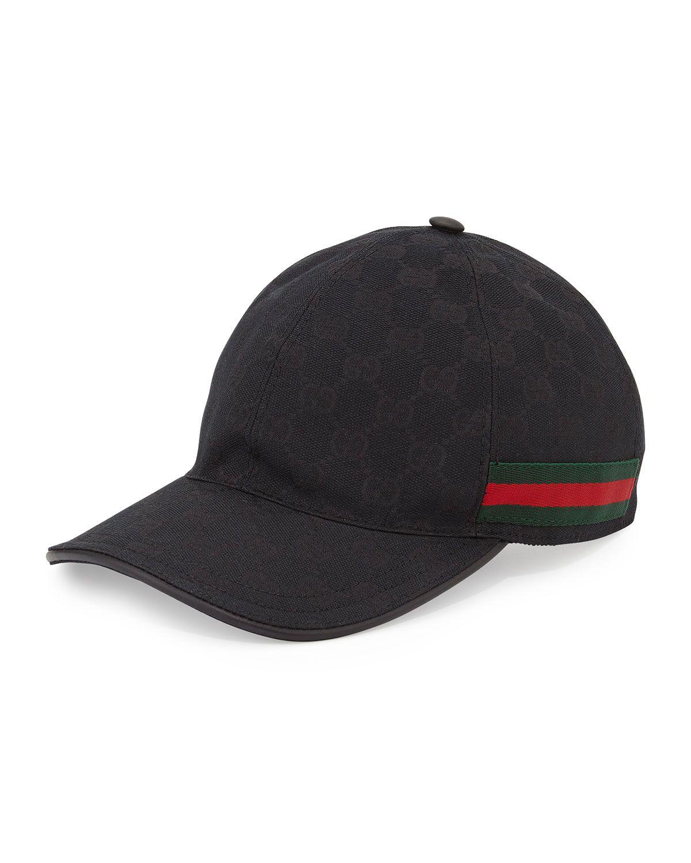 56e97d468bc GG Canvas Baseball Hat