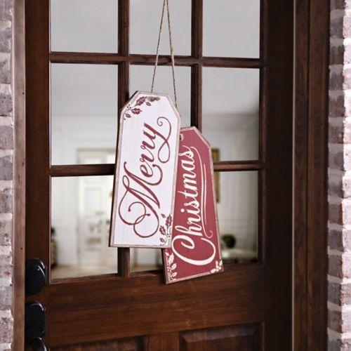 Frohe Weihnachten Geschenkanhänger aus Holz, 2er Set | Kirklands   – christmas wanna-do's