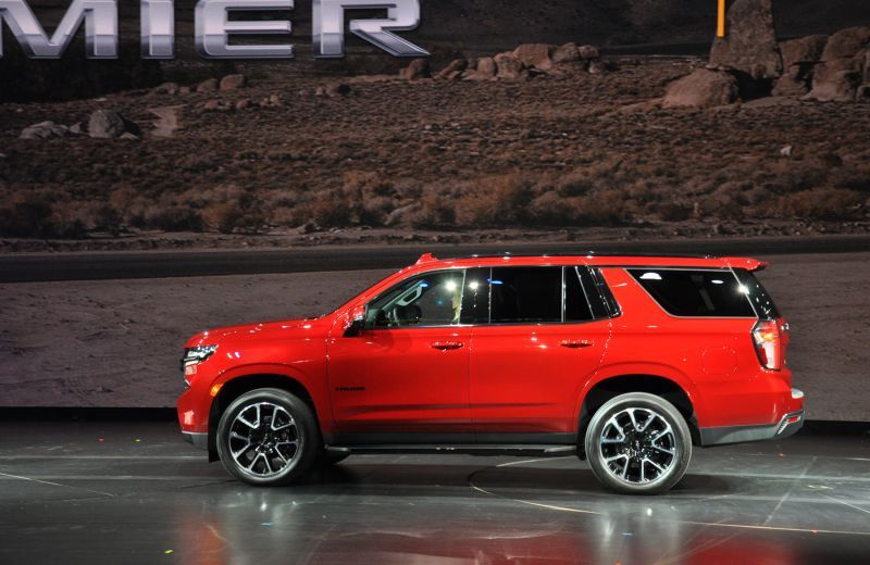 First Look: 2021 Chevrolet Suburban and Tahoe   Chevrolet ...