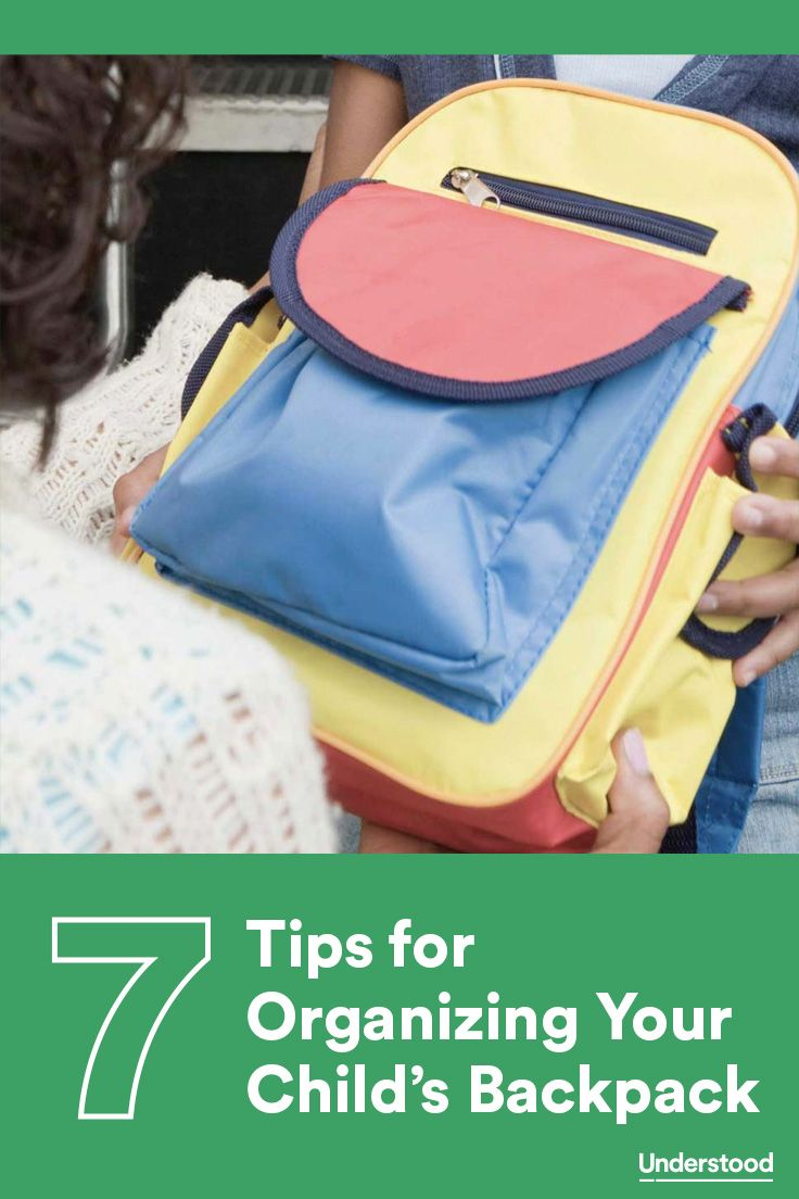3f9a3d21b742 Hack your child s backpack! Use these 7 simple tips to find the right  backpack for your child and organize it so she can always find what she  needs.