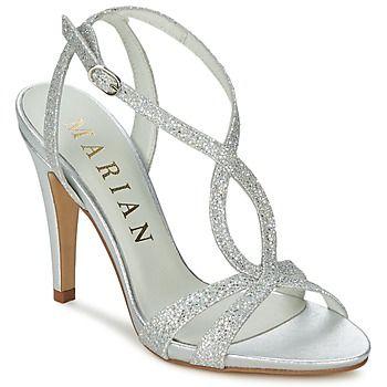 Marian ArgentEt Sandale Talon ClaspiMa Chaussure eHYEDW29I