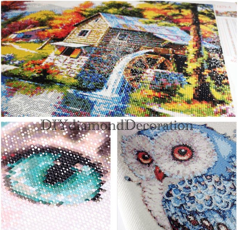 UK Happy Flying 5D Full Drill Diamond Painting Embroidery Cross Stitch Kit EA