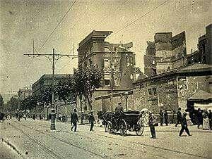 Los efectos de la semana trágica de Barcelona 1909