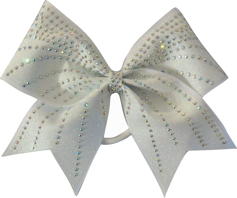 f89dcfe448 Rhinestone Cheer Bows - Rhinestone Waves Glitter Cheer Bow Hair Bow  Cheerleading by SparkleBowsCheer on Etsy