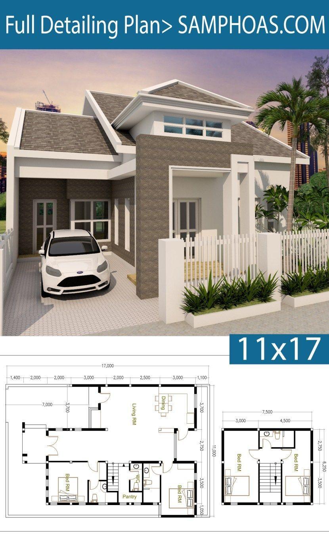 17 Excellent Dream Home Design Bedrooms That Inspire People Denah Rumah Rumah Modern Arsitektur
