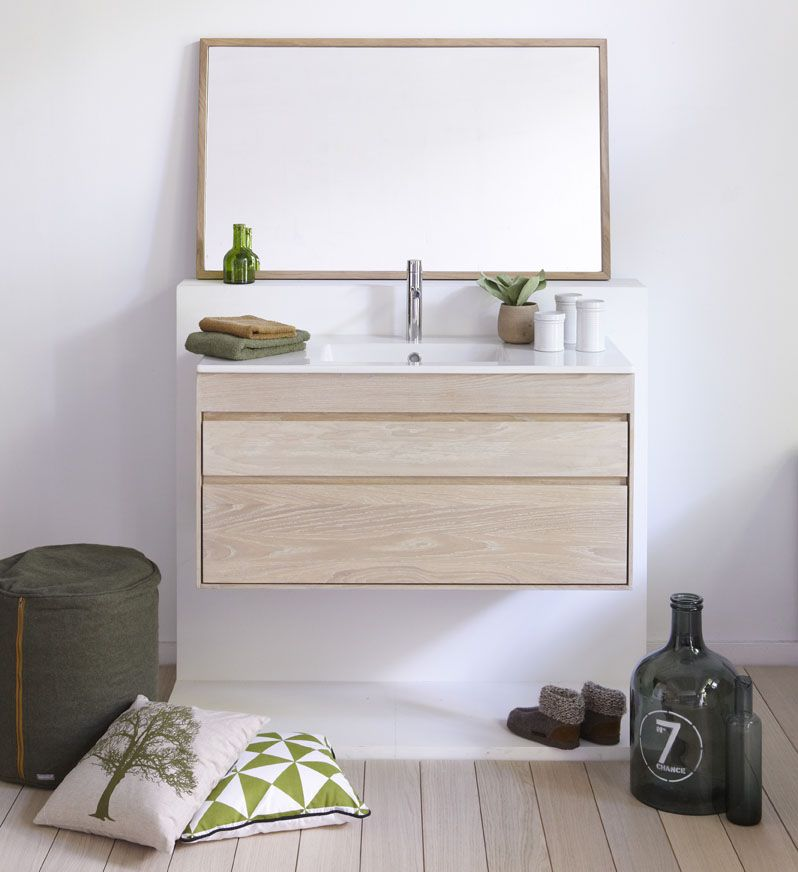Streamline Solid Wood Wall Hung Unit Www Astonmatthews Co Uk Bathroom Furniture Uk Furniture Solid Oak Furniture