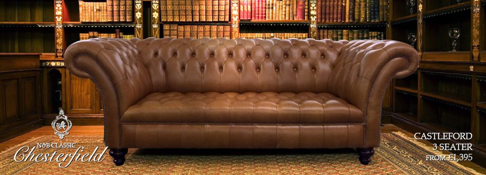 Bespoke Beautiful Chesterfield Sofas