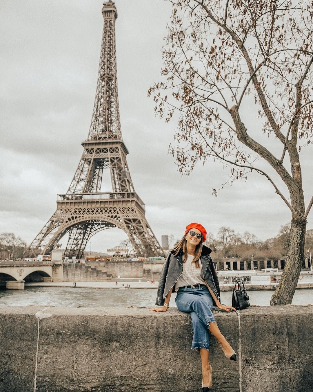 """Alexandra Pereira on Instagram: """"Switched the glittery skyscrapers of Dubai for the good ole' Eiffel Tower! So excited to be back in Paris even though it's going to be for…"""""""