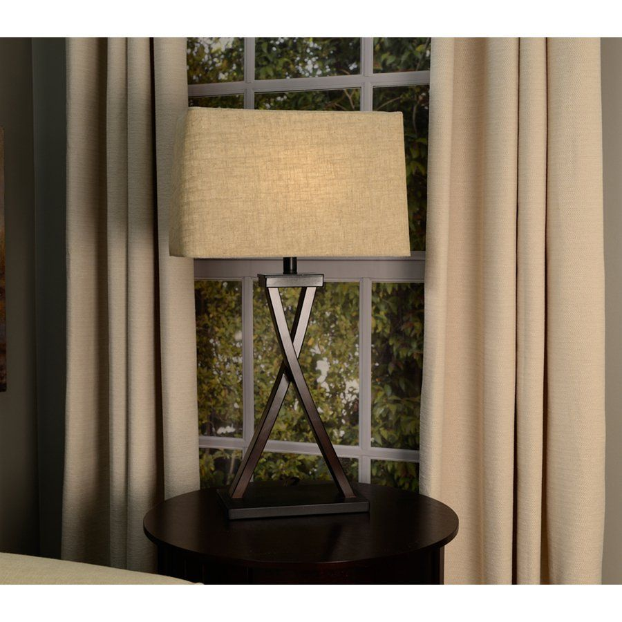 Shop allen roth 10 in x 16 in tan linen fabric rectangular lamp shop allen roth x tan linen fabric rectangular lamp shade at lowes canada find our selection of lamp shades at the lowest price guaranteed with price mozeypictures Choice Image