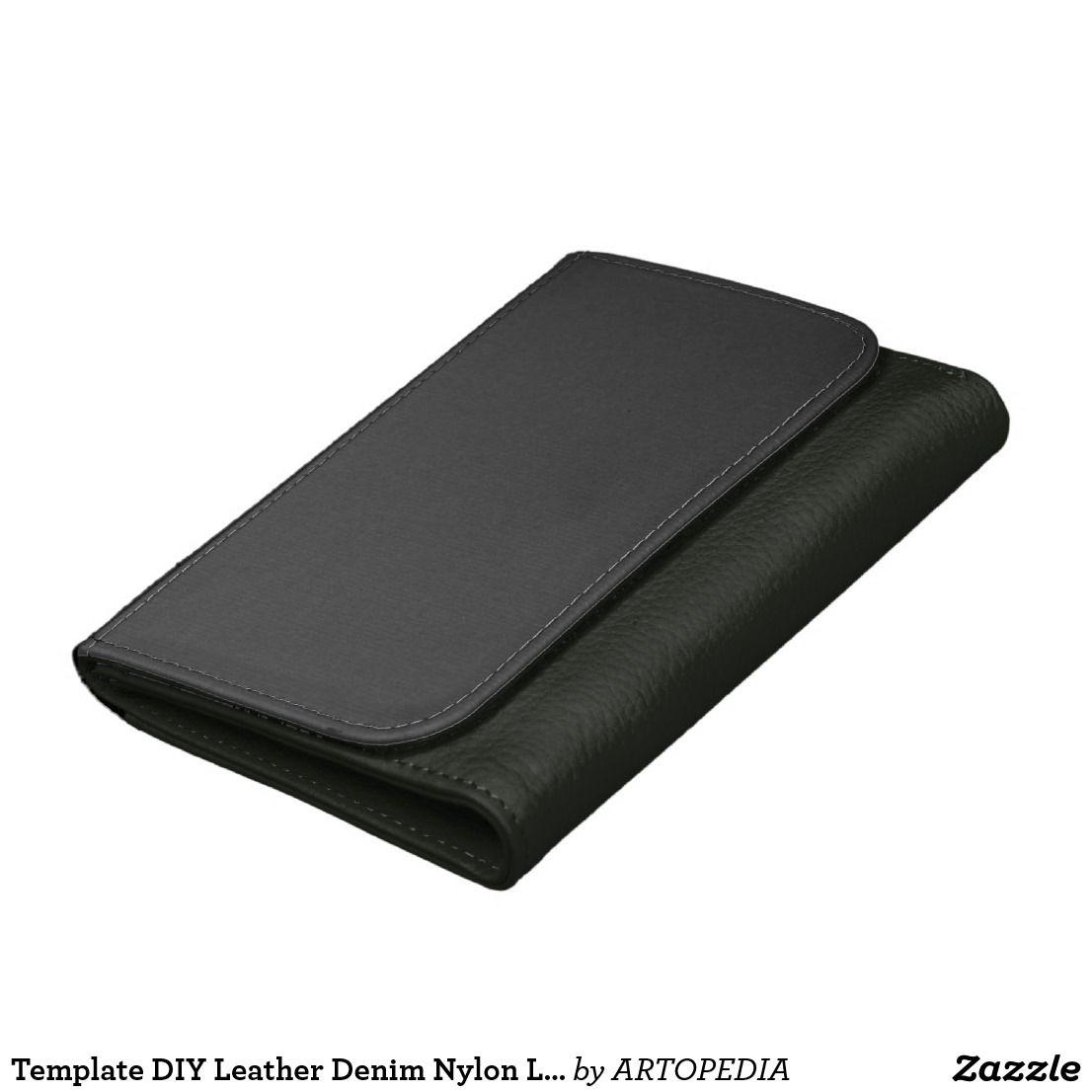 Template DIY Leather Denim Nylon Large Medium Gift Wallet | 101 ...