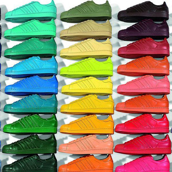 La Superstar d'Adidas relookée par Pharrell Williams