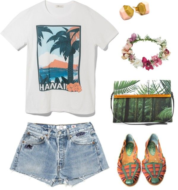 Beach Tropical Vacation Kid Blond Girl With Fashion: 5 Hawaii Vacation Outfits