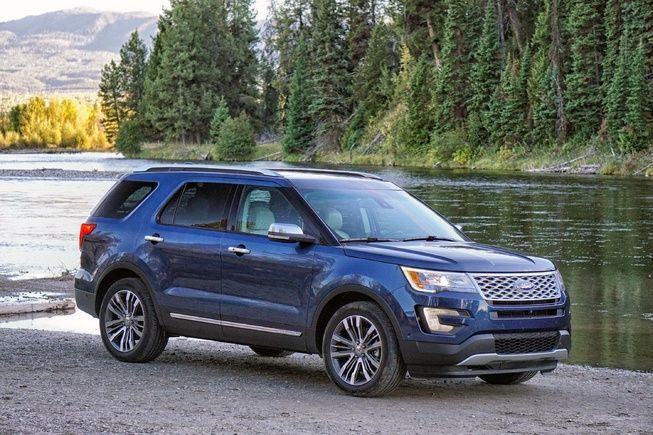 the 2016 ford explorer platinum is featuring virtually every option available and the latest in 25