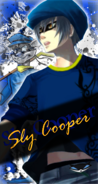Anime Sly Cooper By Ladyissa07 Deviantart Com Anime Cartoon Movie Characters Sly