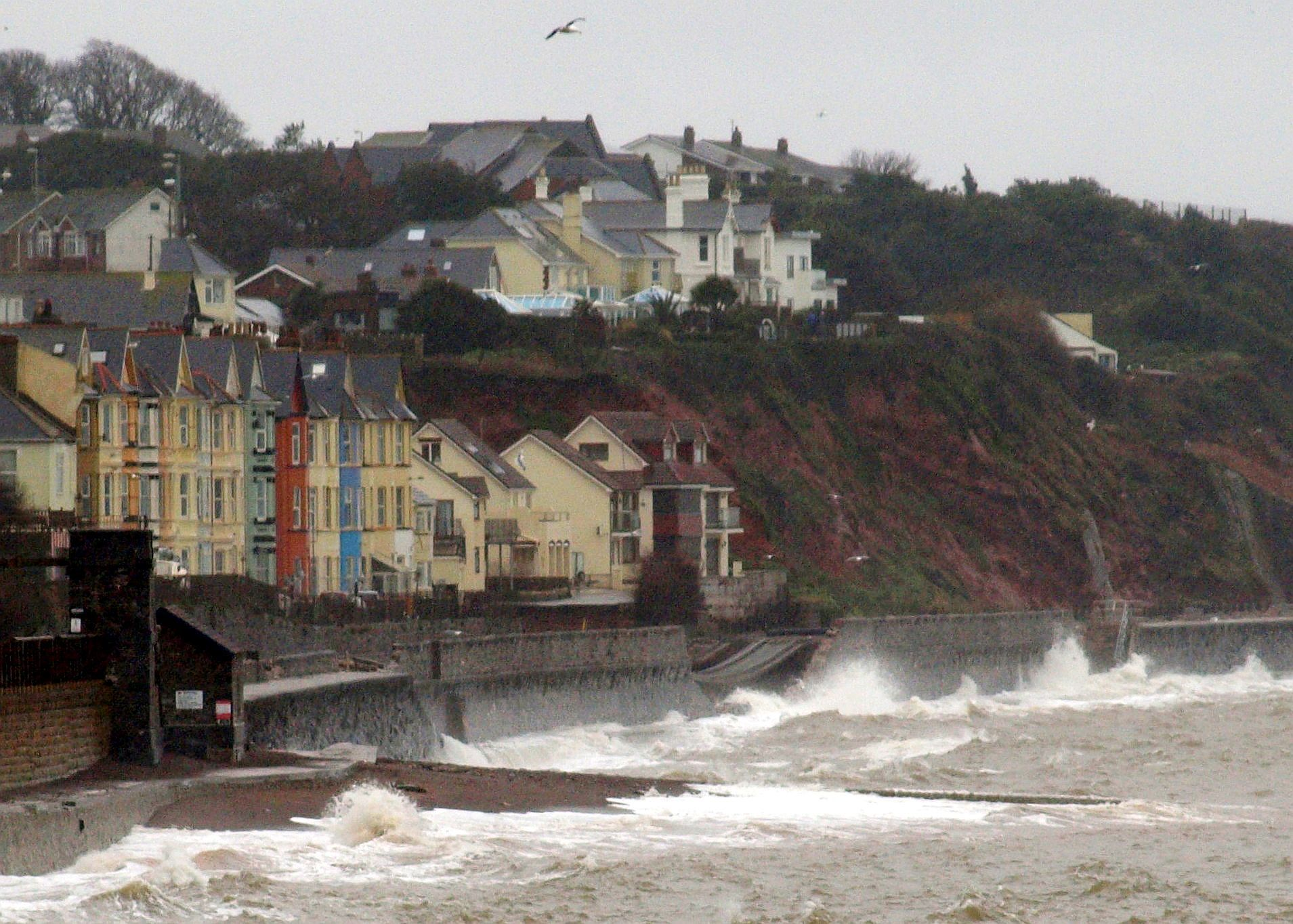 Dawlish line collapse
