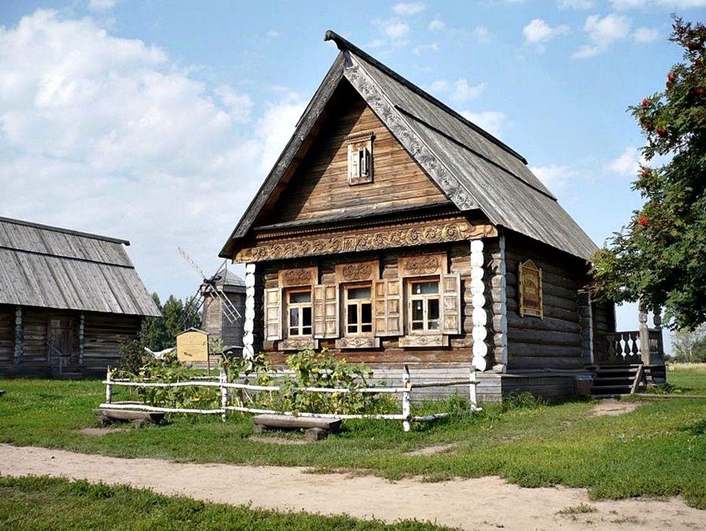 картинки деревянного деревенского дома стал первенцем