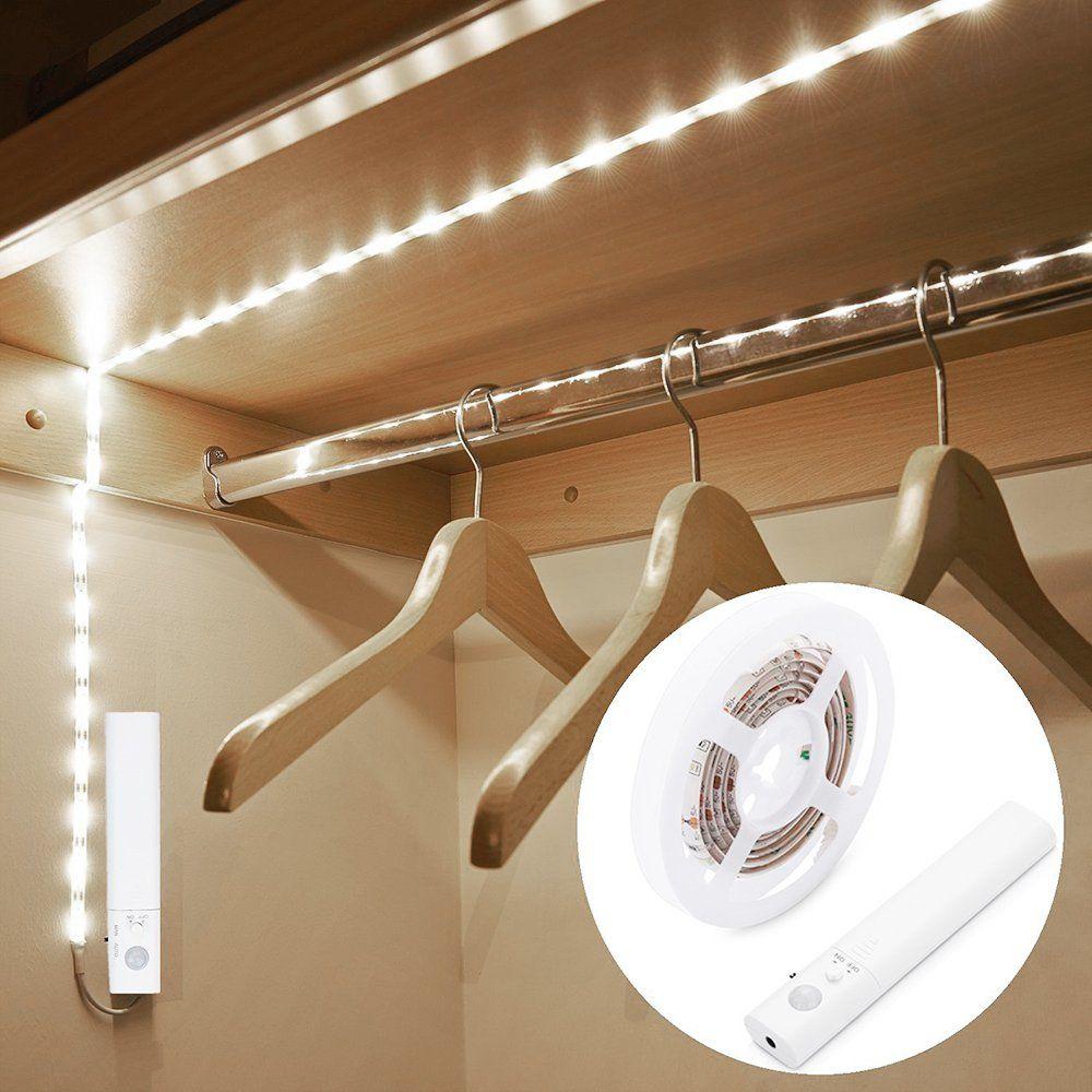 Led Light Strip In 2020 Strip Lighting Wardrobe Lighting Led