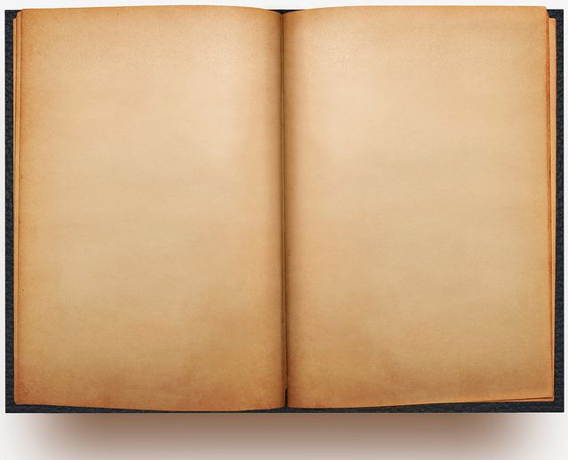 Open Book Blank Open Book Book Template Old Book Pages
