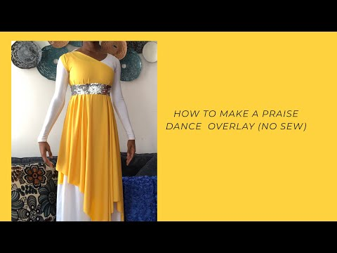 25 How To Make A Praise Dance Overlay Diy No Sew Youtube In 2020 Praise Dance Dresses Praise Dance Garments Praise Dance Wear