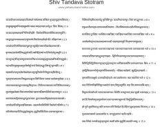 Shiv Tandava Stotram In Hindi Sanskrit  Divine Mother Lalitha
