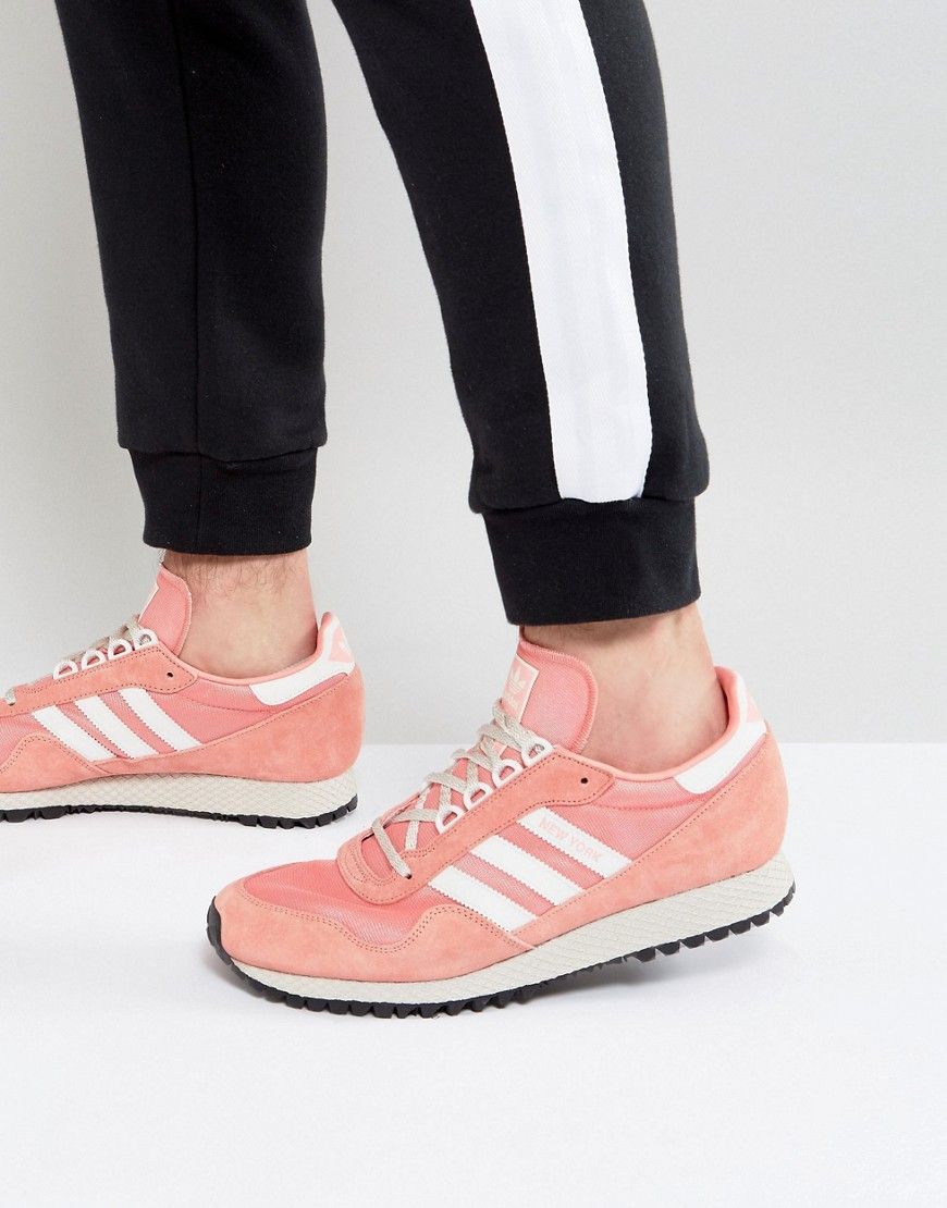 ce8c48c5aad9a5 ADIDAS ORIGINALS NEW YORK SNEAKERS IN PINK BY9341 - PINK.  adidasoriginals   shoes