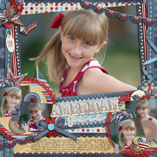 Layout: American Girl