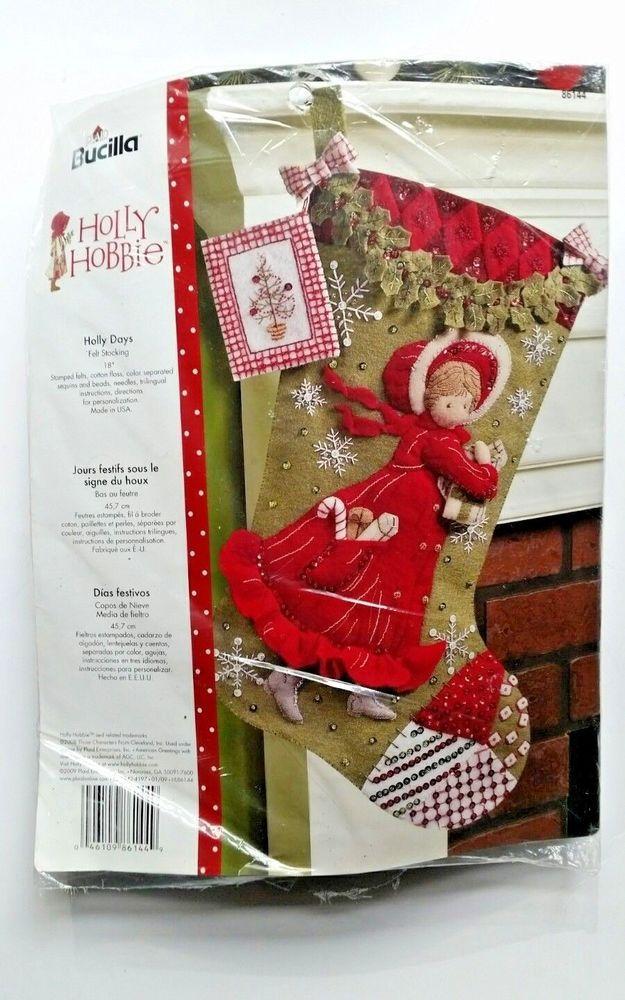 Avon Santa Feutre Stocking