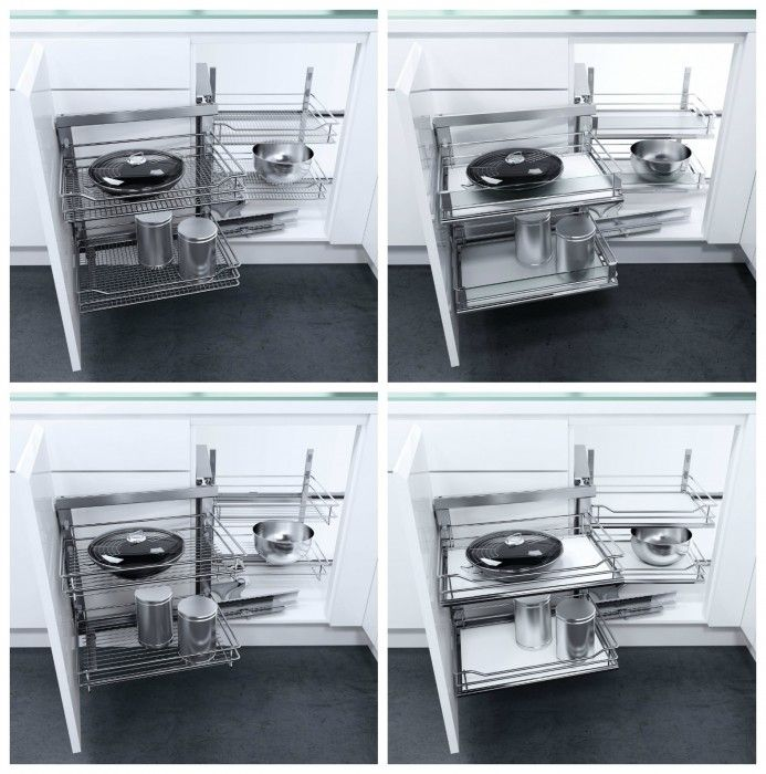 Ferramenta per mobili da cucina ad angolo vauth sagel di hafele arredamento kitchen - Mobile ad angolo cucina ...
