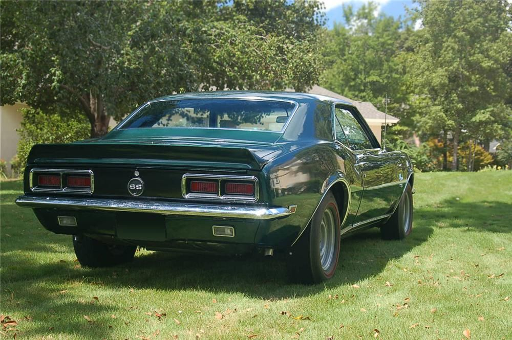 1968 CHEVROLET CAMARO RS/SS COUPE - 66461