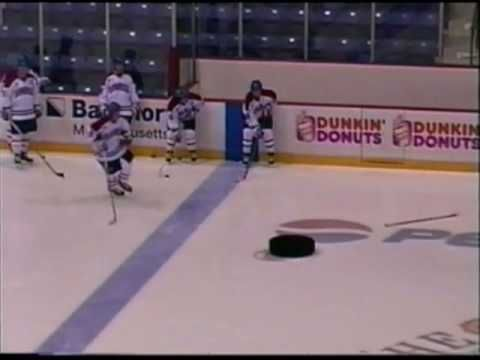 Ice Hockey Passing Drills Youtube Hockey Training Ice Hockey Hockey