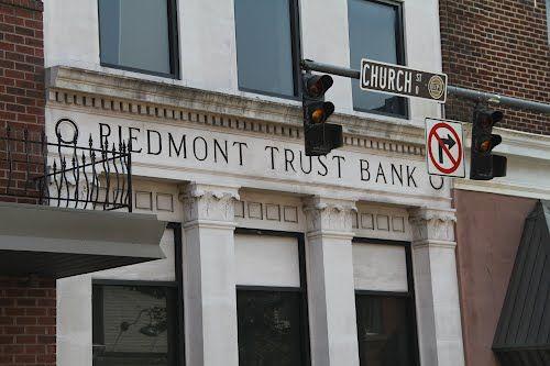 Old Piedmont Trust Bank Detail (Martinsville VA