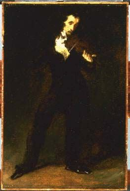Paganini by Daumier at the Phillips Collection, Washington, DC