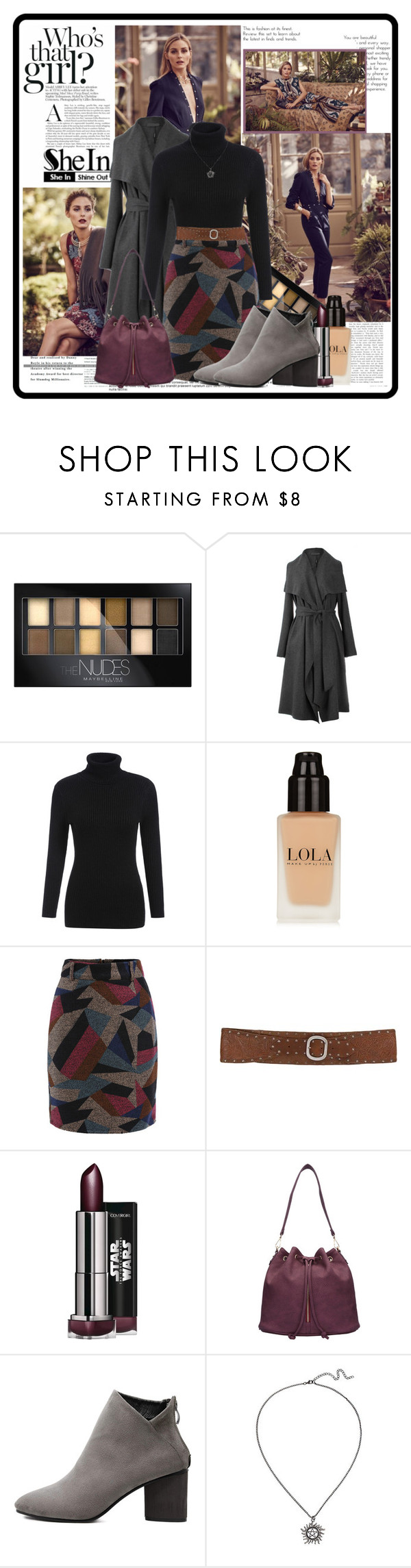 """Olivia's way"" by cindy88 ❤ liked on Polyvore featuring BaubleBar, Maybelline, BKE, women's clothing, women's fashion, women, female, woman, misses and juniors"