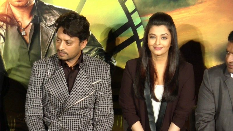 Trailer Launch Of Jazbaa http://www.myfirstshow.com/gallery/events/view/16570/.html