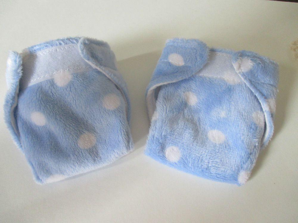 13 baby alive handmade cloth velcro diapers set2 soft