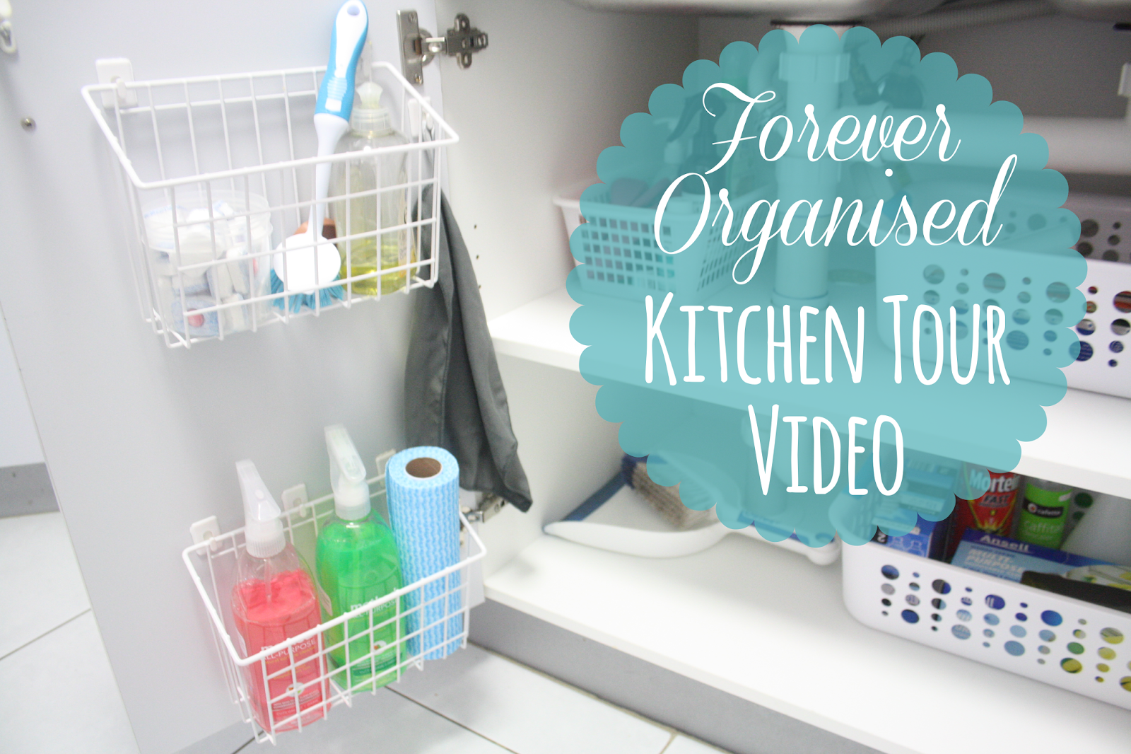 Kitchen Tour Video - Part 2 - www.foreverorganised.com   Organise ...
