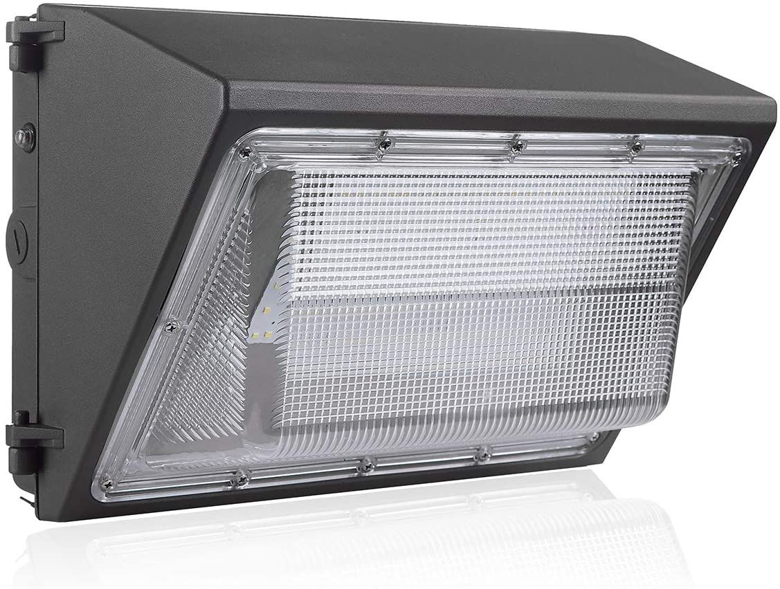 Bloomgrow 120w Wall Pack Led Wall Lights W Photocell Sensor Built In 120v 277v 5000k Commerc In 2020 Industrial Outdoor Lighting Led Wall Lights Outdoor Light Fixtures