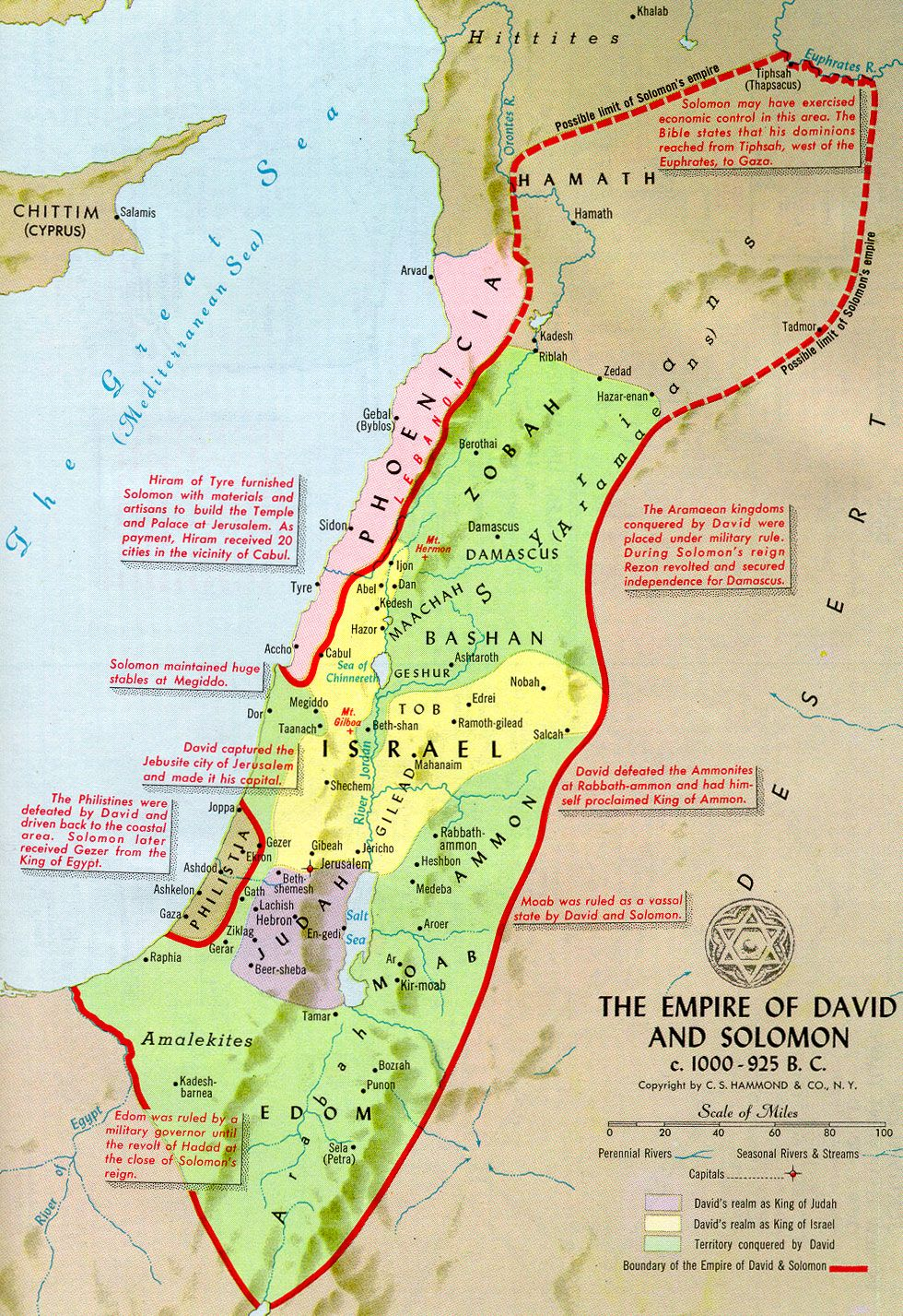 History Books Solomon Empire And King David - Map of egypt before christ