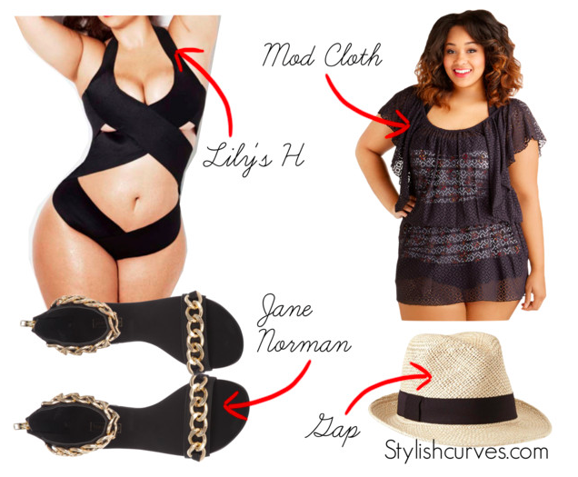 0b7900941f0b4 PLUS SIZE OUTFIT IDEAS  What to Wear to a Pool Party