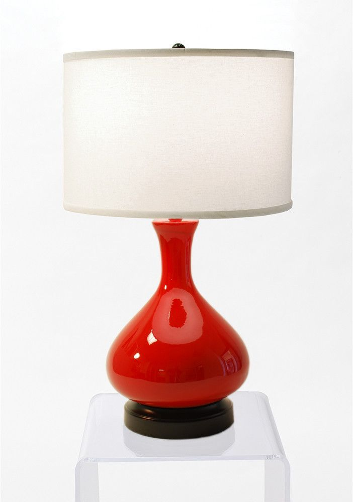 Bartlett Red Cordless Lamp Made In The Usa Cordless Lamps Lamp Battery Operated Lamps