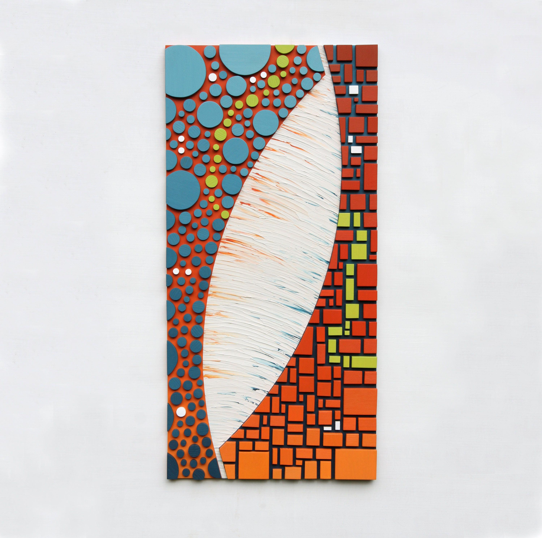 Mosaic wall art upolarityu wood wall art sculpture d by
