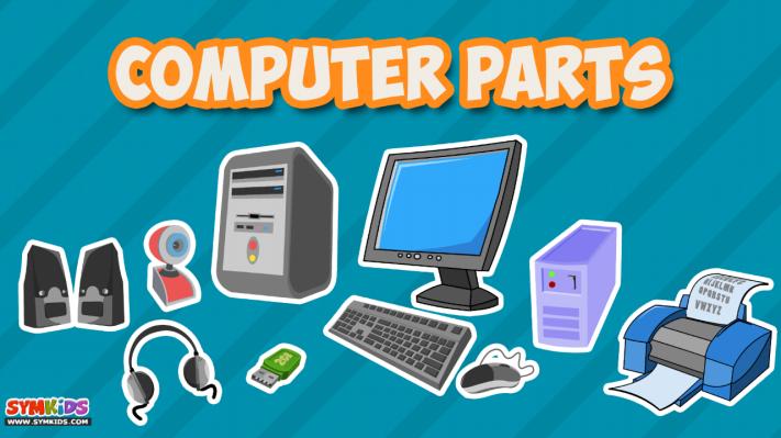 Computer Parts Kids Kids Kids Computer Teaching Computers