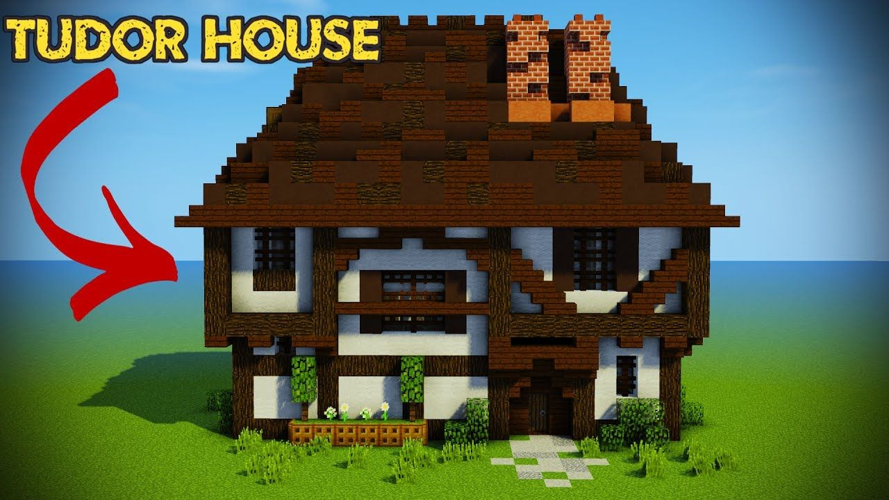 Minecraft: Tudor House Tutorial - YouTube | Minecraft