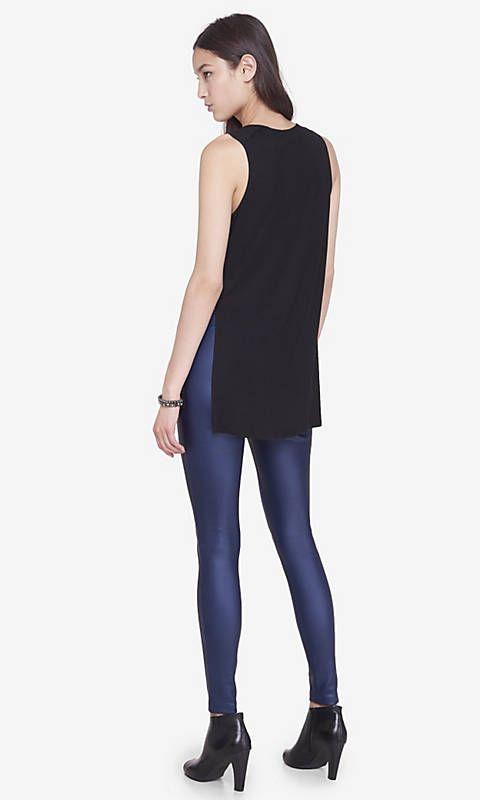 Blue Scuba Legging | Express